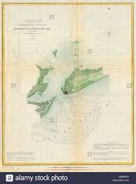 Orleans Tide Chart English This Is An Attractive 1853 U S Coast Survey Chart