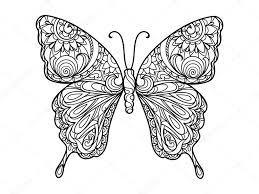 Kleurplaten Vlinders Volwassenen Norskiinfo