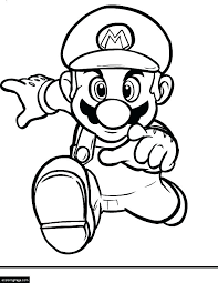 Super Mario Odyssey Printable Coloring Pages New Bros Brothers Page