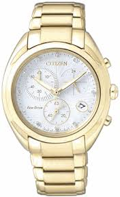 gold tone citizen eco drive chronograph watch fb1396 57a women s gold tone citizen eco drive chronograph watch fb1396 57a