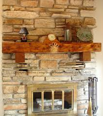 mantle wisconsin rustic fireplace log considerable