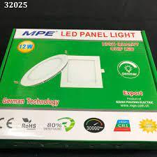 Đèn led panel tròn âm trần 12w ánh sáng trắng RPL-12T MPE MPE
