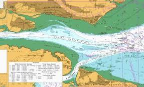 River Thames Sea Reach Marine Chart 1185_0 Nautical