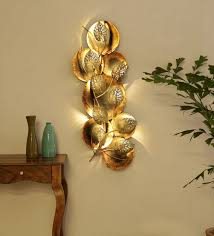 wrought iron decorative in golden