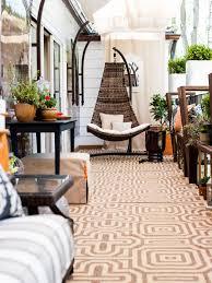 hammock chair on patio