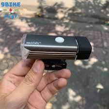 Đèn xe đạp Machfally sạc USB MÀU ĐEN, giá tốt nhất 100,000đ! Mua nhanh tay!