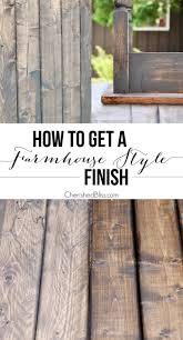farmhouse furniture style. An Easy Step-by-step Tutorial For Finishing Raw Wood Or Furniture. With Farmhouse Furniture Style