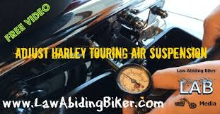 Harley Davidson Air Suspension Chart Adjust Harley Davidson Street Glide Touring Air Suspension
