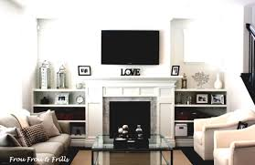 Living Room With Fireplace Decorating Seelatarcom Decorations Idac Banquette