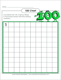 Fill In The Blank 100s Chart Hundreds Chart Blank Supremecarpetcleaningnyc Com