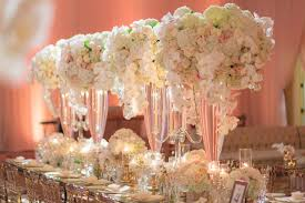 Wedding Reception Ideas Choosing Tall Vs Short Centerpiece