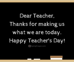 Quotes For Teachers Awesome 48 Happy Teachers Day Quotes And Messages SayingImages