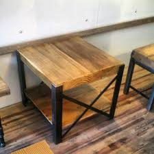 reclaimed wood and metal furniture. Reclaimed Wood And Steel Coffee Table \ Metal Furniture N