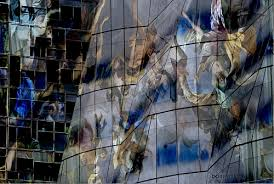 postmodern architecture gehry. Plain Gehry Gehry Building Wraped In Italien Baroque Fresco  Post Modern Architecture  A Vision Inside Postmodern Architecture