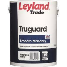 Leyland Trade Truguard Smooth Masonry Standard Colours 5l