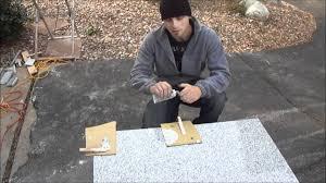 Lazy Granite Tile For Kitchen Countertops Epoxy Lazy Granite Tile For Kitchen Countertops Youtube