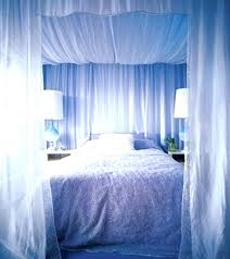 curtains around the bed
