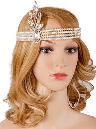 Vintage 1920s Flapper Headband Gatsby 20s Headpiece Inspired Hair