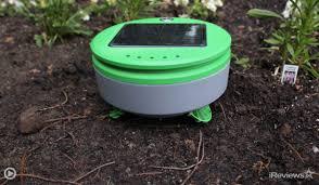 tertill solar powered weeding robot