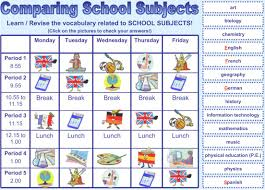 presentations audio a page of english ppt school subjects