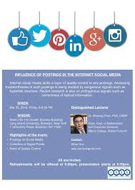 Influence Of Postings In The Internet Social Media