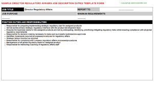 cover letter regulatory affairs auditing manager cover letter