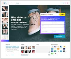 One Product Website Design One Product Webshop E Commerce Website Design Daily Deal