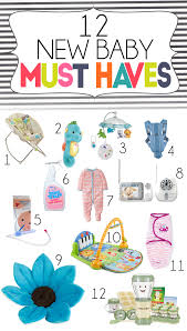 Top 12 Must Have Items For New Babies