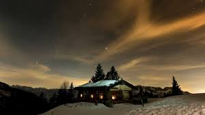 winter night stars wallpaper. Plain Winter Mountains Winter Night Stars Skyscapes Cottage Sky 1920x1080 Wallpaper For Winter Night Stars Wallpaper S