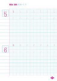 Tập viết chữ và số (Giúp bé tự tin vào lớp 1) - Tô màu - Luyện chữ Tác giả  Vân Hương