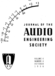 Aes E Library Complete Journal Volume 4 Issue 4