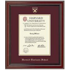 harvard business school diploma frame fidelitas graduation gift