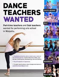 Modern Resume For Instructors Jazz Dance Teacher Dance Teacher Finder