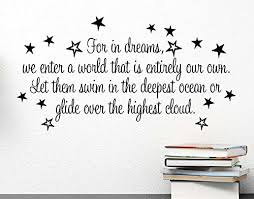 Harry Potter Dreams Quote Best of Amazon For In Dreams We Enter A World That Is Entirely Our Own