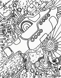 Hippie Coloring Pages Printable Coloringstar