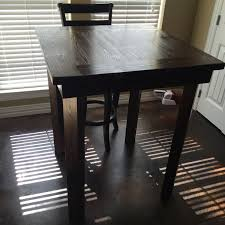 high pub style table and chairs. 30\ high pub style table and chairs