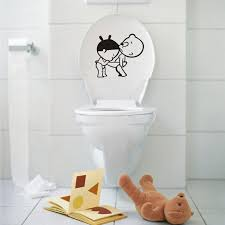 desktop wallpaper toilet sticker home decor diy poster kids wall in art for bathrooms idea 17