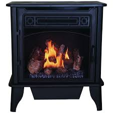 vent free gas stove heats square feet metal it remote thermostat propane fuel procom fireplace reviews