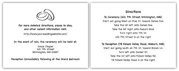 wedding direction card wording simple wedding invites Wedding Invitation Direction Inserts direction and information card sample for wedding wedding invitation direction inserts template