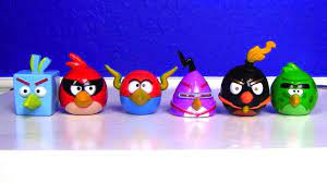 AWESOME Angry Birds SPACE toy with red LASER!!! - YouTube