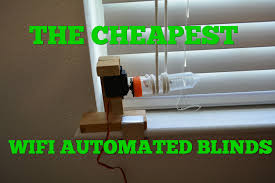 the est tech 15 diy internet of things automated blinds