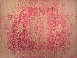 modern pink heriz 8x10 rug at nomad rugs in san francisco