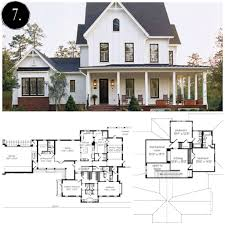 modern farmhouse floor plan rooms for blog