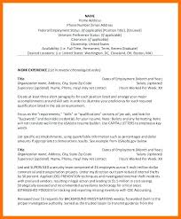 Federal Government Resume Examples Extraordinary Usajobs Federal Resume Format Sample Web Military To Civilian