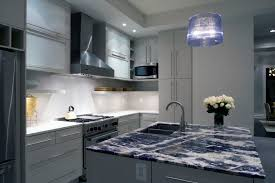 blue granite countertops. Image By: MB Interiors Blue Granite Countertops