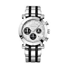atlas® chronograph watch in stainless steel mechanical movement atlas® chronograph watch