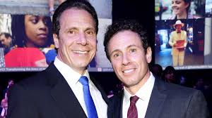 Chris cuomo asks the tough questions to newsmakers in washington and around the world. Chris And Andrew Cuomo Share I Love You S In Sweet Brotherly Moment On Cuomo Prime Time Entertainment Tonight