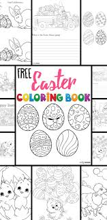 Free Easter Coloring Pages Your Kids