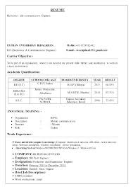 My First Resume Template Enchanting My First Resume Template My First Resume Examples My First Resume