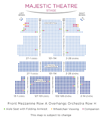 The Majestic Seating Chart Majestic Theatre Dallas Seating